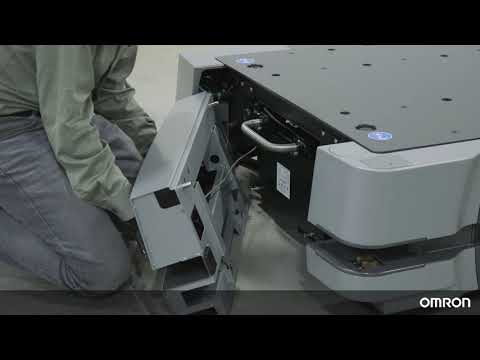 OMRON HD-1500 Tutorial 9: Autonomous Mobile Robot Battery Replacement