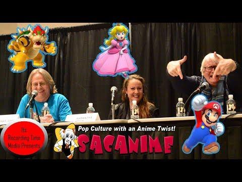 SacAnime 2019: Super Mario Bros Saturday Panel