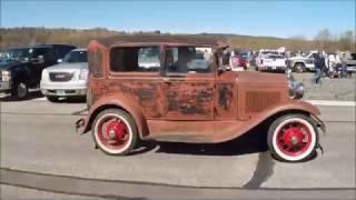 Early Ford V8 Club Swap Meet, Fitchburg, Mass, 4-23-2017
