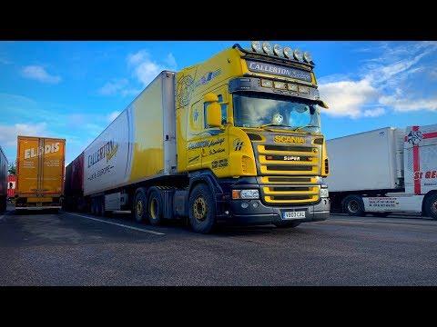 Scania V8 - Callerton Haulage
