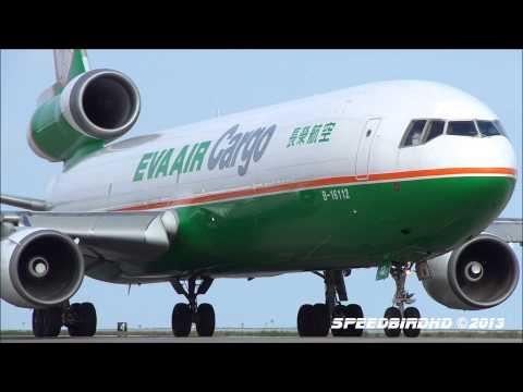 EVA Airways Cargo McDonnell Douglas MD-11 [B-16112] at LAX