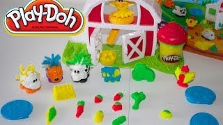 PLAY-DOH AMIGUITOS DE LA GRANJA|Play-Doh Farm Barnyard Pals Animal Activities Mundo de Jugutes