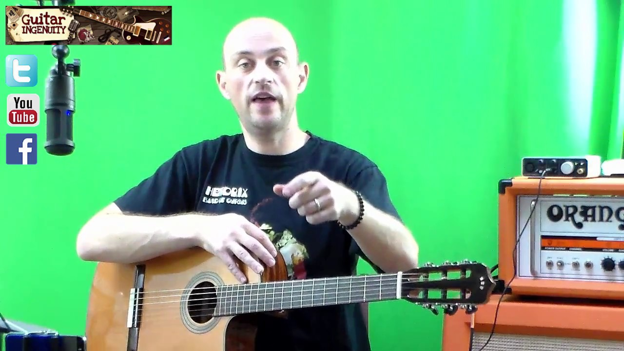 How To Play Santa Claus Is Coming To Town On Guitar Youtube