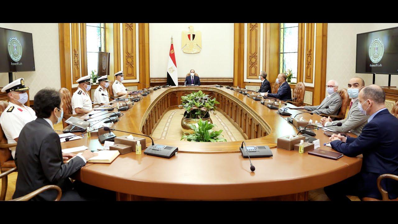 الرئيس عبد الفتاح السيسي يشهد الاتفاق على تطوير ميناء أبو قير البحري ليصبح الأكبر في المنطقة - YouTube