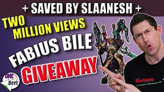 Fabius Bile Giveaway (Painted by Wizzard Wargaming)