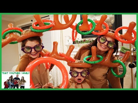 Reindeer Ring Toss / That YouTub3 Family I Family Channel