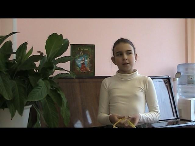 Изображение предпросмотра прочтения – АннаИванникова читает произведение «Мартышка и очки» И.А.Крылова