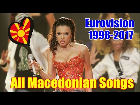 Eurovision: All Macedonian Entries (1998-2017)