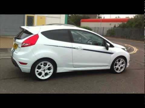 ford fiesta mk7 with dark tints youtube. Black Bedroom Furniture Sets. Home Design Ideas