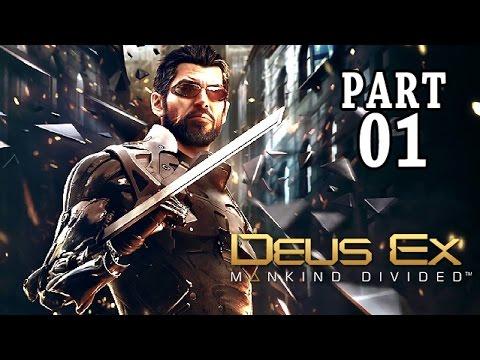 Let's Play Deus Ex Mankind Divided Gameplay German PS4 Deutsch Part 1 - Wie alles begann