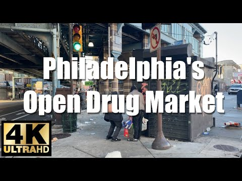 Walking Tour The Kensington Experience Open Drug Market Up Close | 4K ULTRA HD SMOOTH CAM FOOTAGE