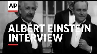 ALBERT EINSTEIN INTERVIEW - SOUND