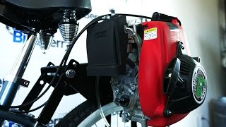 4-Stroke 49cc Friction Drive Motor Bicycle Engine Kit Installation | The Flying Horse Lock-n-Load