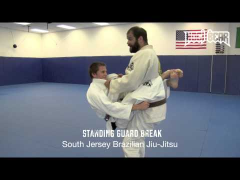 Standing Guard Break for BJJ MMA - Jay Regalbuto of SJBJJ - Nogi Bear™ Grappling AGL PGL Travel Video