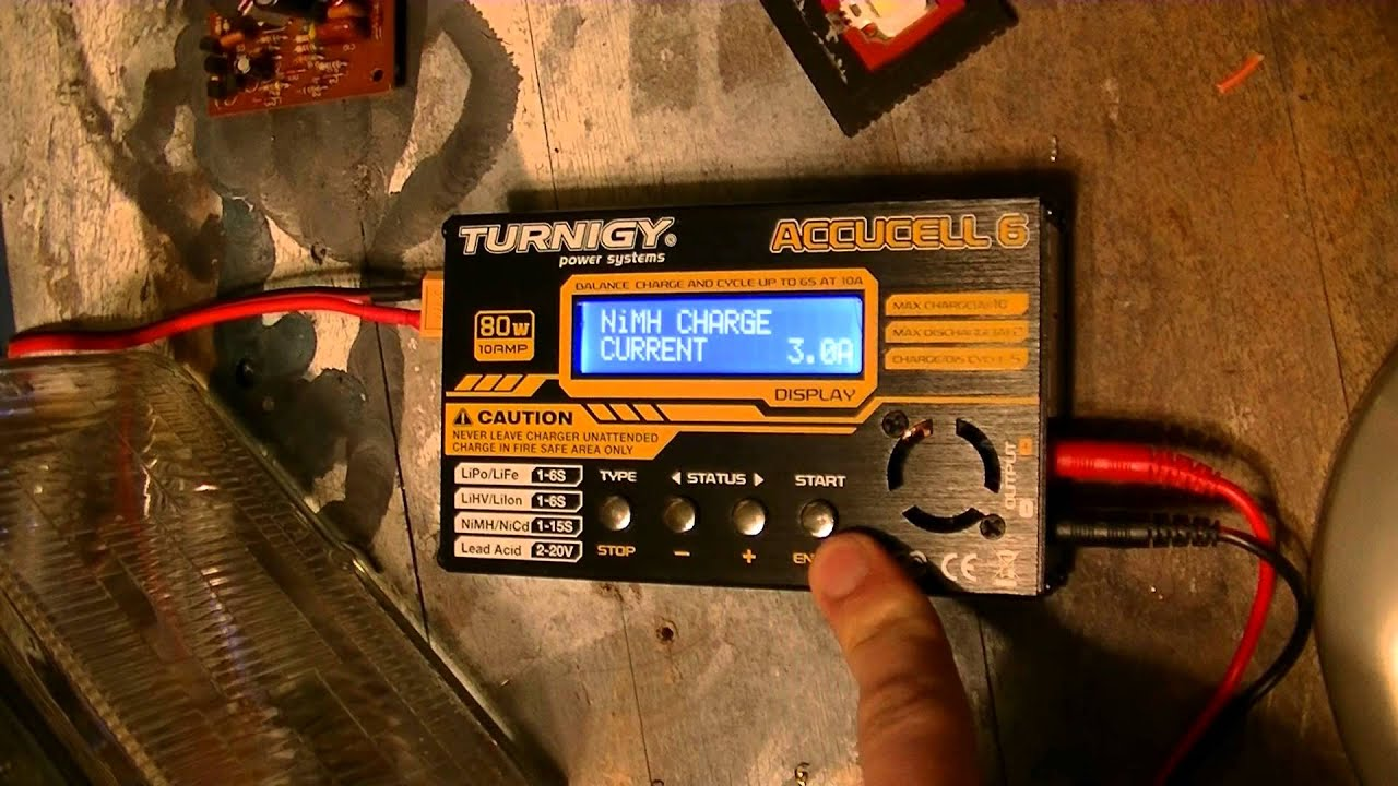 Turnigy Battery Charger Constant Current Source Youtube