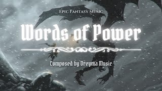 Skyrim Battle Music (Fan Made) - 'Words Of Power' (Music Inspired By Skyrim)