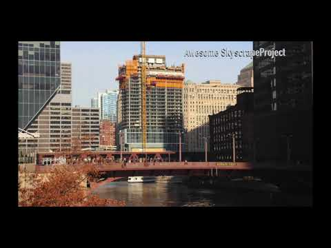 CHICAGO Wolf Point East Tower New Apartment Development by Hines February 2019