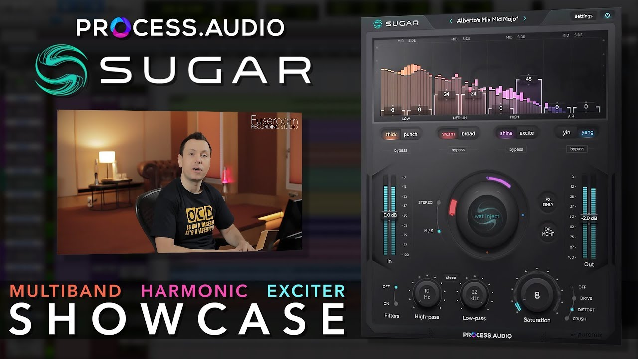 Sugar Multiband Exciter Plugin - Master Class & Showcase