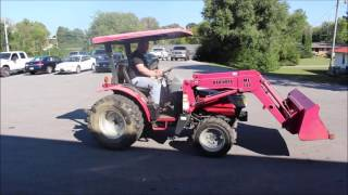 ONLINE ONLY ABSOLUTE AUCTION - Mahindra 2815 HST Tractor with ML 111 Front End Loader