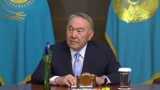 Назарбаев встретился с Димашем Кудайбергеном