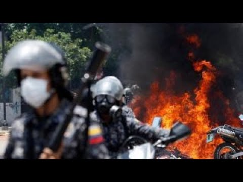 Calls for US military to secure humanitarian aid for Venezuela