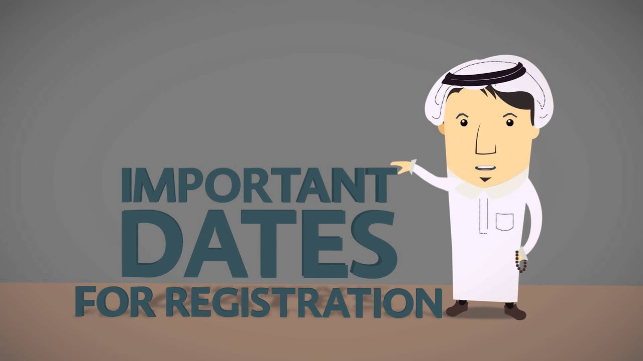#QU_Wayak: Registration Important Dates at Qatar University