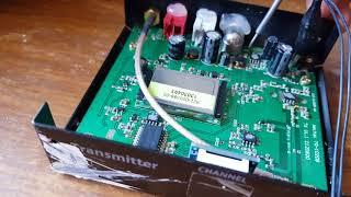 Диагностика и ремонт wi-fi видео передатчика