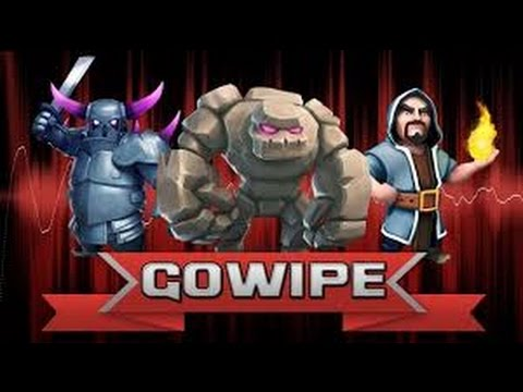 Clash Of clans- GoWiPe attack strategy guide (200 troop space)