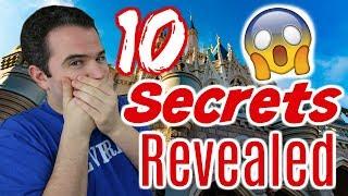 10 Secrets Revealed about Walt Disney World 😱