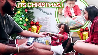 OUR KIDS FIRST CHRISTMAS TOGETHER!!! | VLOGMAS DAY 22