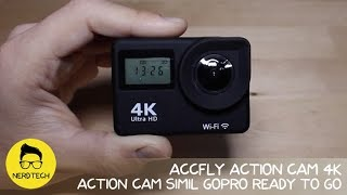 AccFly Action Cam 4K simil GoPro