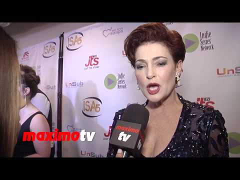Carolyn Hennesy Interview 5th Annual INDIE Series Awards #ActingDead #GeneralHospital