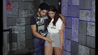 Siddharth Malhotra Praises Parineeti Chopra's New Dress New Looks At WRAP UP PARTY OF JABARIYA JODI