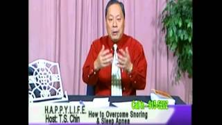 T.s. Chin / How To Overcome Snoring  pt. 5