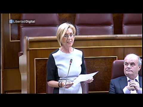 Tenso rifirrafe entre Rosa Díez y Rajoy por Cataluña