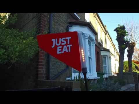 Just Eat and Starship Technologies Robot Delivery system