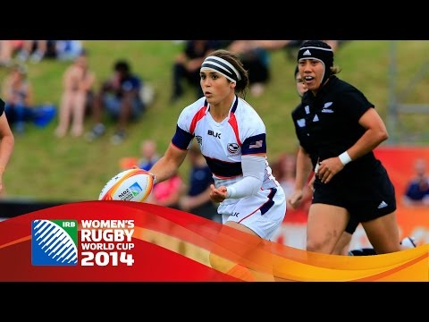 [HIGHLIGHTS] New Zealand 34-3 USA at Women