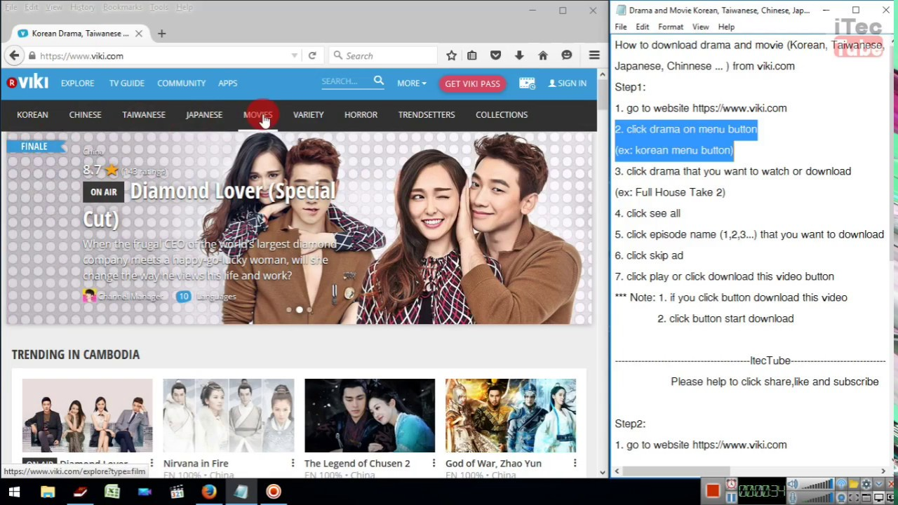 How to download drama korean taiwanese chinese japanese from how to download drama korean taiwanese chinese japanese from viki ccuart Image collections