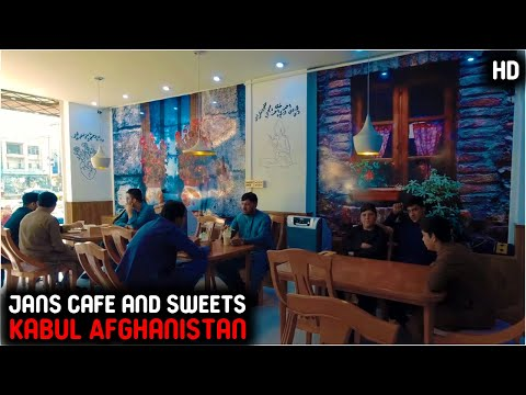 Jans cafe and sweets | kabul Afghanistan | 2020 | HD