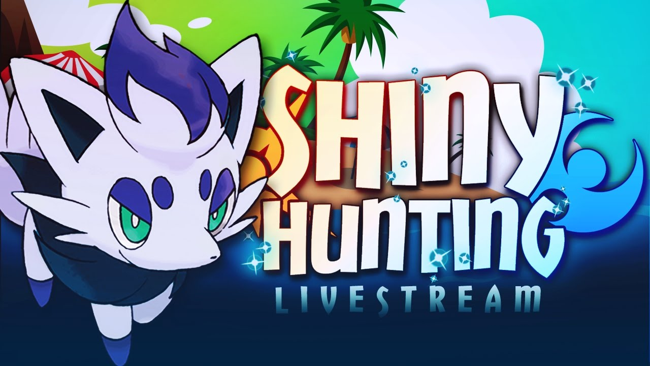 WOAH! A NEW ZORUA FORM?! SHINY HUNTING ZORUA - Pokémon Sun & Moon  Livestream w/ Hydros - YouTube