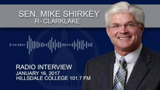 RFH: Sen. Shirkey discusses the new session and priorities