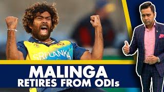 MALINGA retires from ODIs   #AakashVani