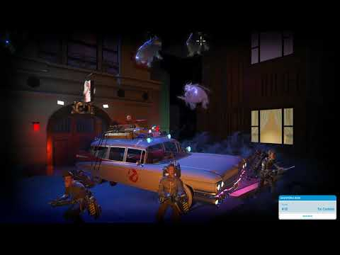 Planet Coaster - Ghostbusters Shooting Ride |