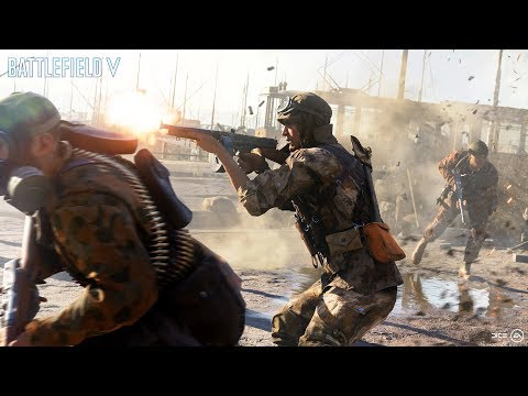 Battlefield 5 –  Gamescom Trailer – Devastation of Rotterdam
