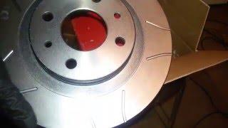 Замена тормозного диска на Brembo диски !!!