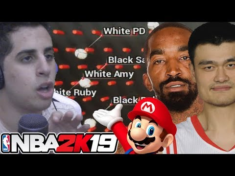 NBA 2K19 MARBLES OF RACE DRAFT And Then I Took A Buzzfeed Quiz
