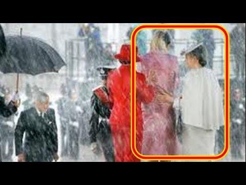 【感動実話】ノルウェー国民が驚いた「これが日本の心だ・・」皇后陛下のノルウェー王妃に対する優しいお気遣い。嵐の歓迎式典で皇后陛下が御手を伸ばした相手とは?【皇室・天皇】