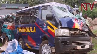 Five dead, 3 injured in car crash  in Nakasongola