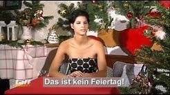 Micaela Schäfer erklärt Weihnachten