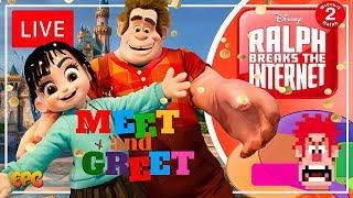 Vanellope Von Schweetz Meet and Greet at Disneyland?! Sat Morn Disney Talk LIVE!